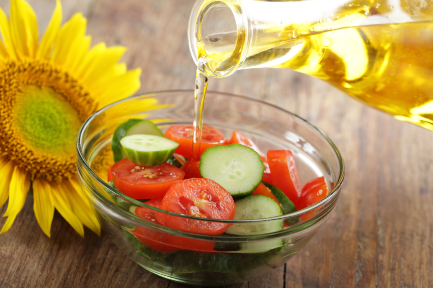 Fresh salad olio grassi vegetali