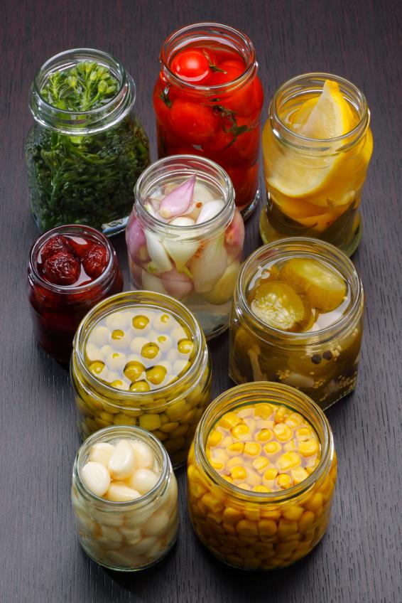 botulino conserve vegetali