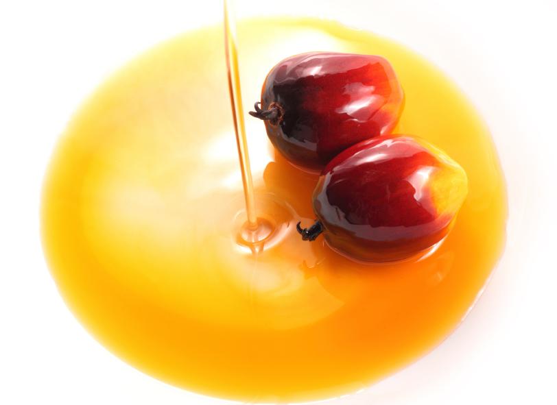 olio di palma e frutto