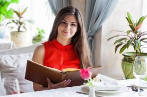 ristorante Woman in  restaurant