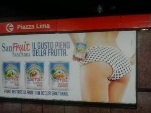 pubblicità sanfruit
