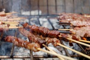 tossina di Shiga spiedini carne iStock_000002014351_Small