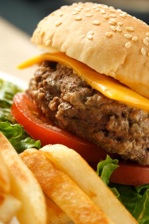 McDonald's Hamburger  fast food