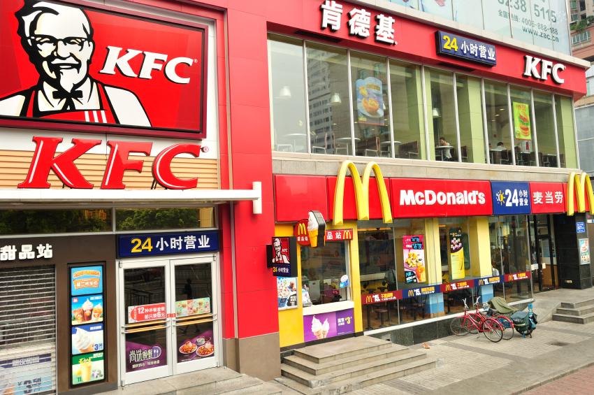 KFC mcdonalds