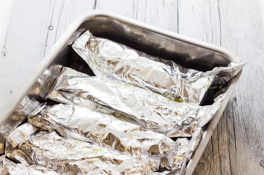 Fish foil alluminio