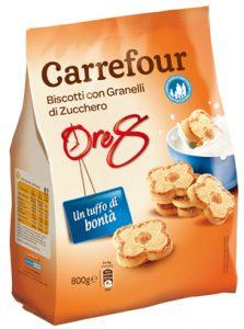 Biscotti Con Granelli Di Zucchero Carrefour