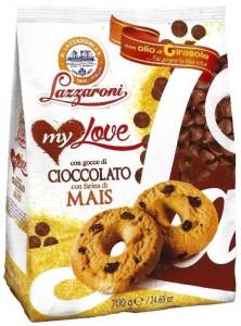 Lazzaroni - My Love - con Gocce di Cioccolato e Mais