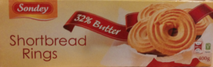 Shortbread Rings Sondey