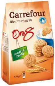 biscotti integrali carrefour