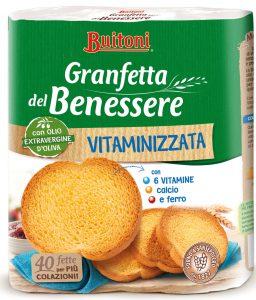buitoni granfetta del benessere vitaminizzata