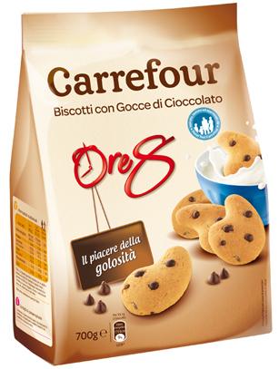 carrefour biscotti con gocce di cioccolato