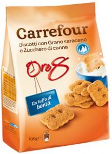 carrefour biscotti saraceno zucchero canna