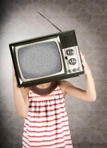 cibo spazzatura in tv