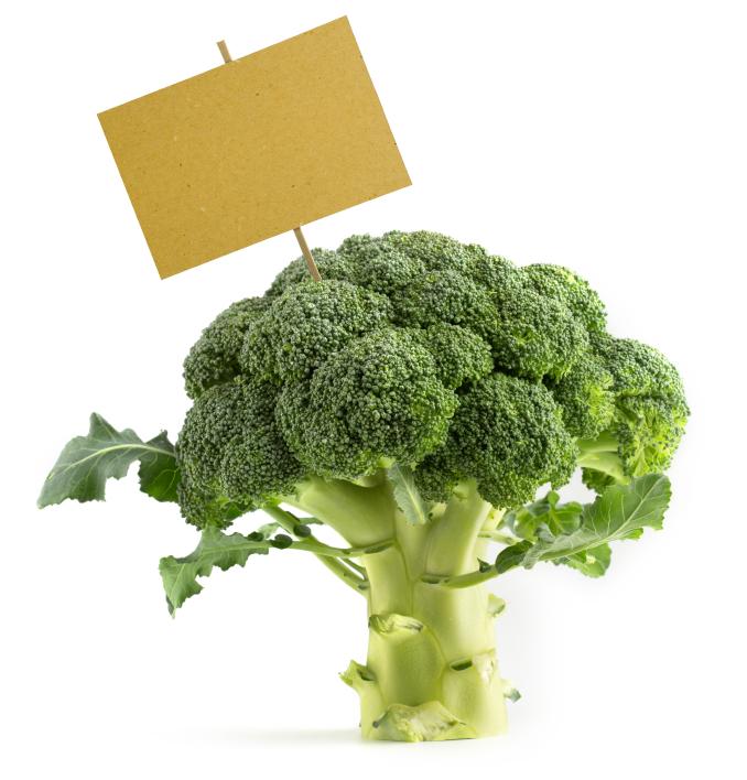 etichette broccoli
