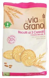 probios biscotti ai 3 cereali