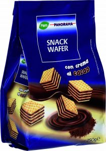 snack wafer cacao pam