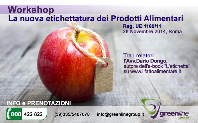 workshop nuova etichettatura