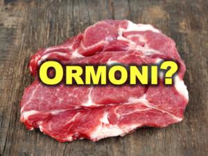 carne agli ormoni