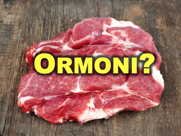 carne ormoni
