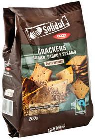coop solidal cracker riso farro