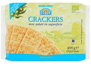 crackers esselunga bio