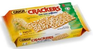 crich crackers riso soffiato