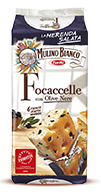 mulino bianco focaccelle-olive-nere