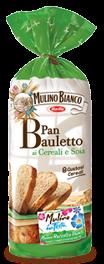 mulino bianco pan bauletto ai cereali e soia