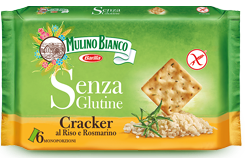 mulino bianco senza glutine cracker