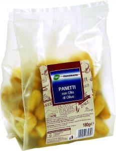 panetti con olio di oliva pam