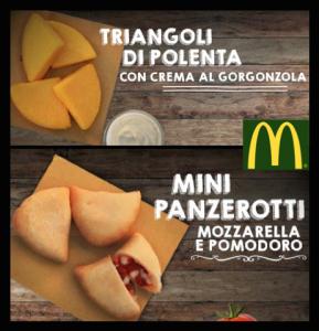 polenta panzerotti mcdonalds