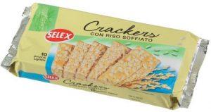 selex crackers con riso soffiato