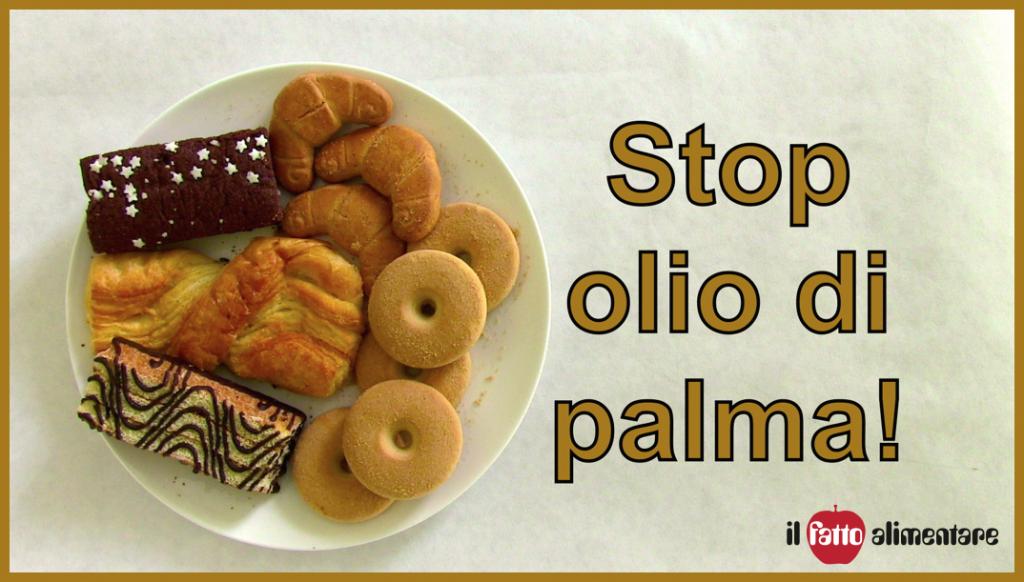 petizione olio palma
