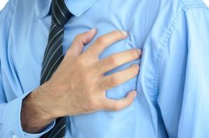 Businessman having heart attack Sale