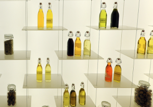 food mostra bottiglie