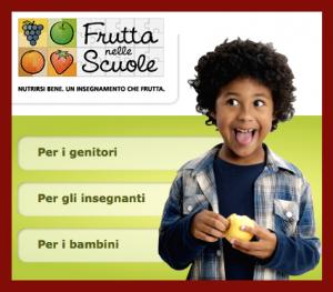 frutta nelle scuole genitori