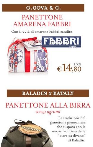 Panettone eataly