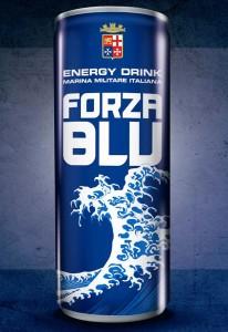 forza blu lattina