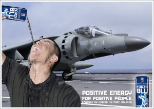forza blu marina militare energy drink