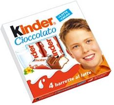 kinder cioccolato ferrero