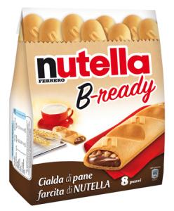 nutella b-ready ferrero bready