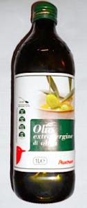 olio extravergine di oliva auchan