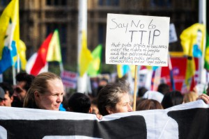 Anti-TTIP Protest 11-10-2014 - 07