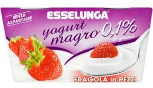 esselunga yogurt magro fragola
