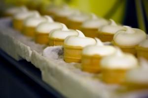 Running belt with ice-cream Listeria nel gelato