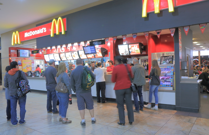 mcdonald's indicazioni nutrizionali calorie