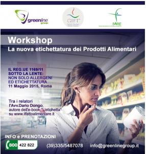 11 maggio Workshop