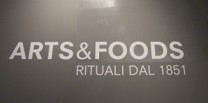 Arts and Foods mostra 2015 triennale