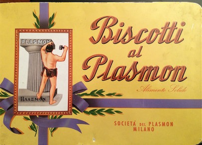 biscotti plasmon scatola antica
