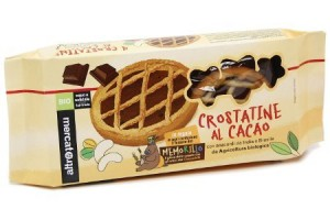 altromercato crostatine al cacao